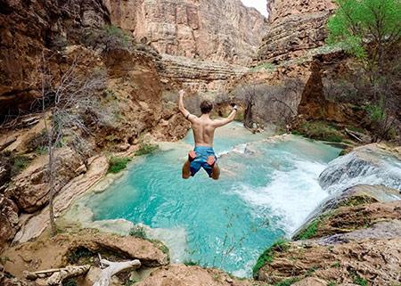 Waterfall Jump Geninc