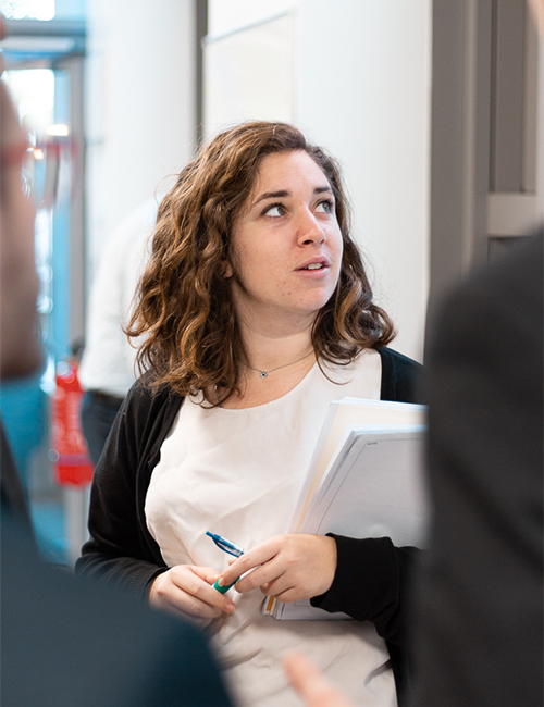 Brand Ambassador durant un meeting