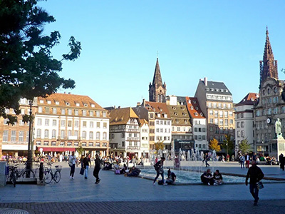 Strasbourg place Kleber